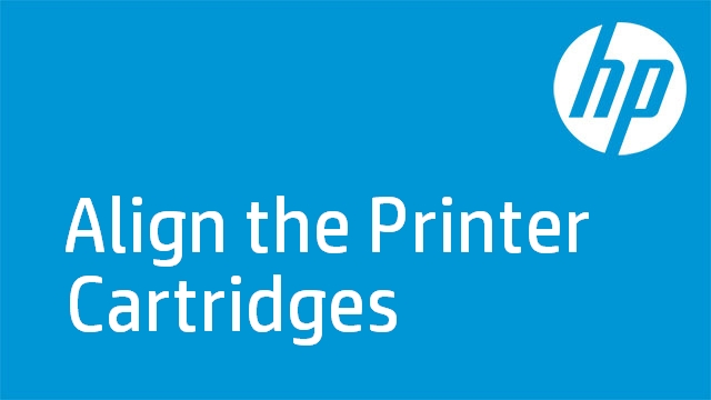 Align the Printer Cartridges