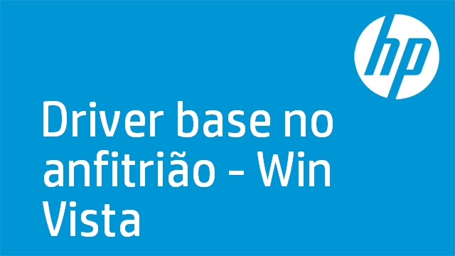 Driver base no anfitrião - Win Vista
