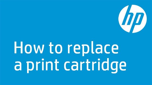 How to replace a print cartridge