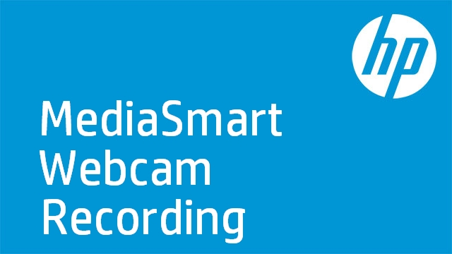 MediaSmart Webcam Recording
