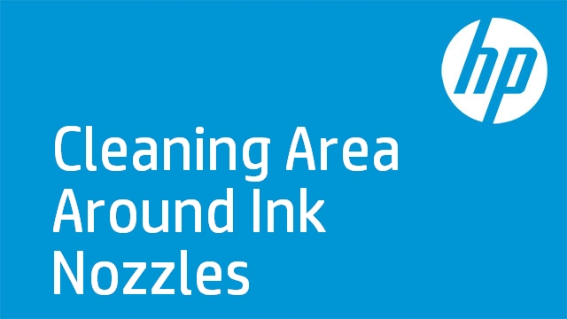 Cleaning Area Around Ink Nozzles