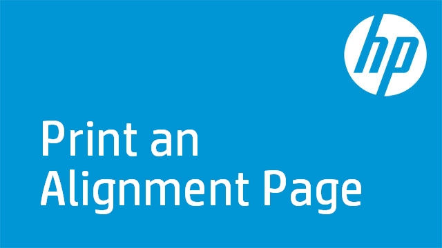 Print an Alignment Page