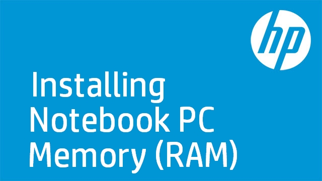 Installing Notebook PC Memory (RAM)