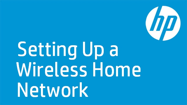 Home wireless network set-up