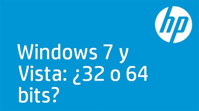 Windows 7 y Vista: ¿32 o 64 bits?