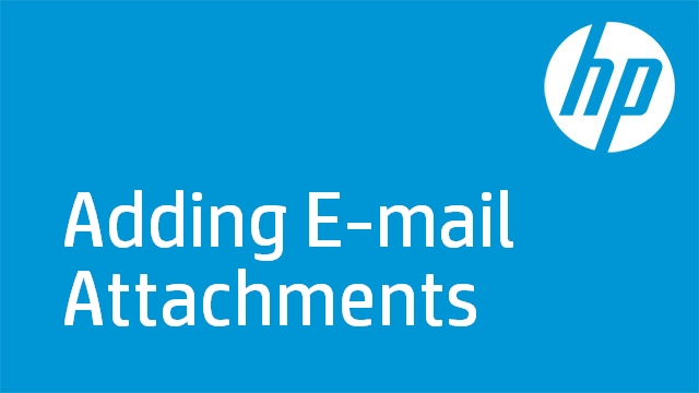 Adding E-mail Attachments