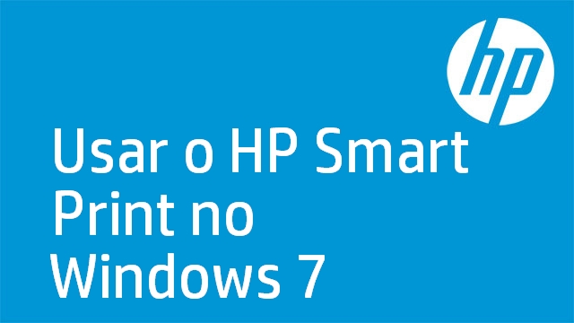 Usar o HP Smart Print no Windows 7
