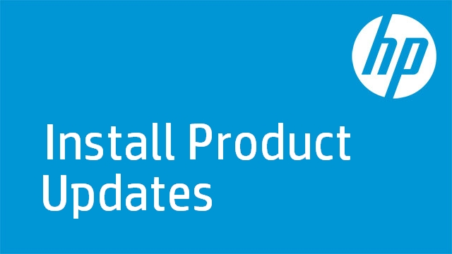 Install Product Updates - HP Photosmart D110a