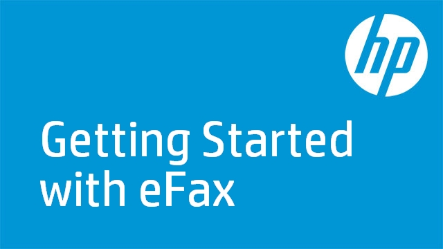 Getting Started with eFax - HP Photosmart C510a
