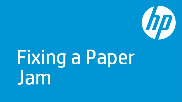 Fixing a Paper Jam - HP Photosmart Premium Fax e-All-in-One Printer (C410a)