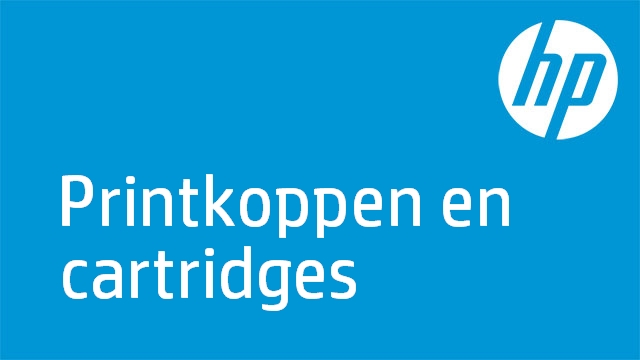HP Officejet - Printkoppen en cartridges