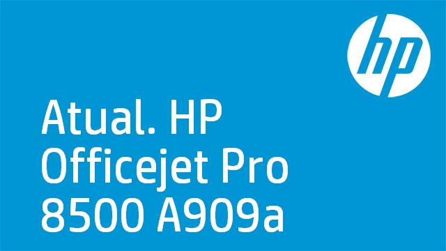 Atual. HP Officejet Pro 8500 A909a