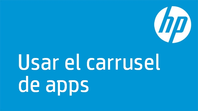 Usar el carrusel de apps