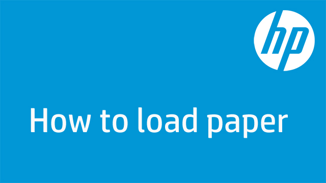 How to load paper