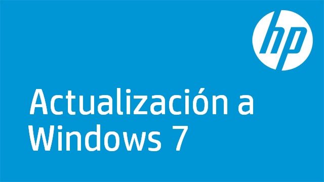 Actualización a Windows 7