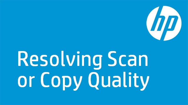Resolving Scan or Copy Quality - HP Officejet J6400