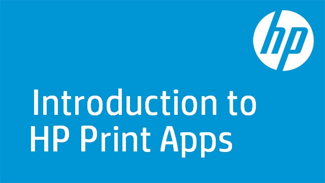Introduction to HP Print Apps