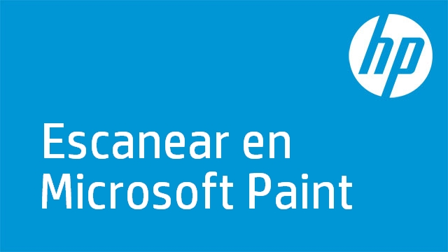 Escanear en Microsoft Paint