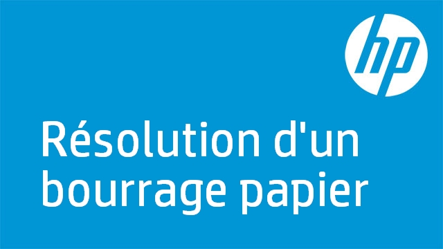Résolution d'un bourrage papier - HP Officejet J4600 Printer