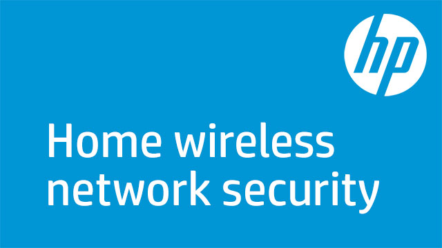 Home wireless network security