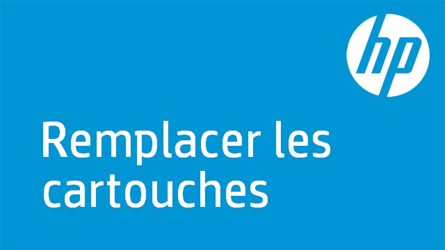 HP OJ 6300: Remplacer les cartouches