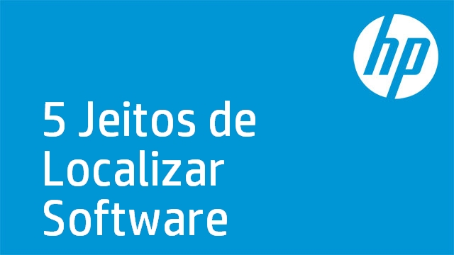 5 Jeitos de Localizar Software
