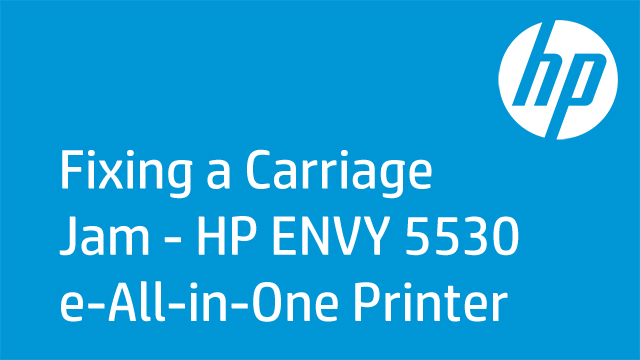 Fixing a Carriage Jam - HP ENVY 5530 e-All-in-One Printer