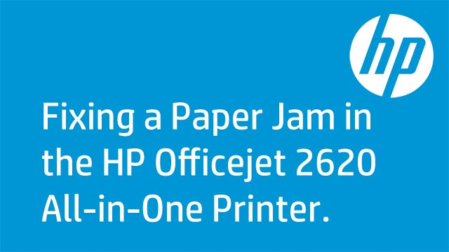 Fixing a Paper Jam in the HP Officejet 2620 All-in-One Printer