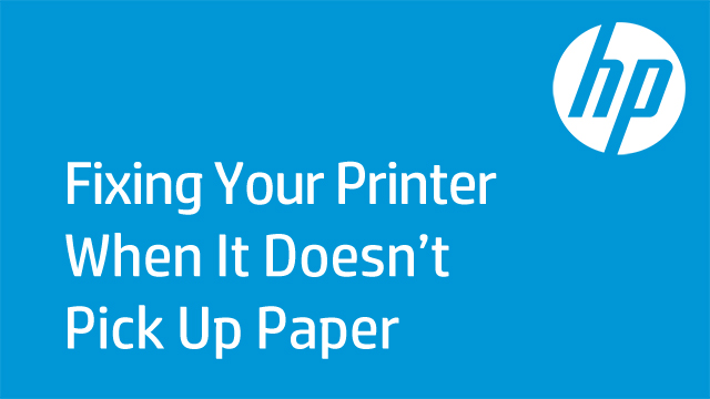 Fixing Your Printer When It Doesn't Pick Up Paper