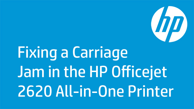 Fixing a Carriage Jam in the HP Officejet 2620 All-in-One Printer
