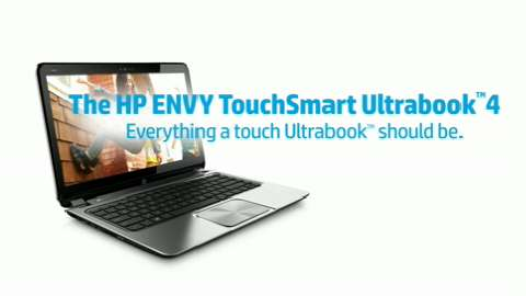 HP ENVY TouchSmart Ultrabook 4-1100 demo video - English