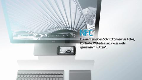 HP Spectre One 23-e000 All-in-One Desktop Video demo- German