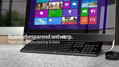 HP ENVY 23-d000 TouchSmart All-in-One video demo - Dutch
