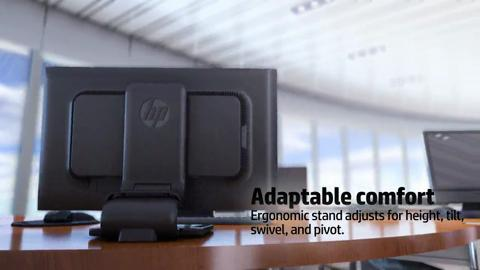 HP ZR2330w IPS LED Backlit Monitor product video