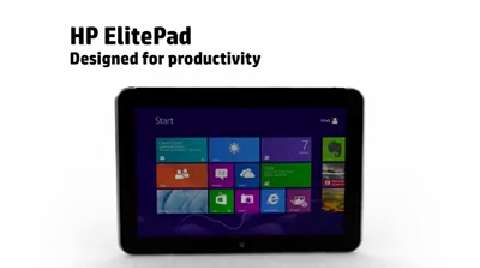 Crafting of the ElitePad  Productivity
