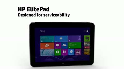 Crafting of the ElitePad  Serviceability