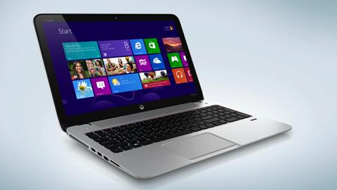 HP ENVY15 TouchSmart Notebook 360 view
