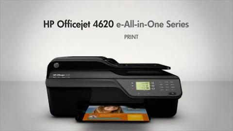 HP Officejet 4620 e-All-in-One Printer - English EMEA