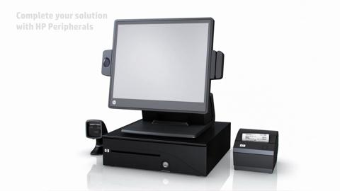 HP RP7 Retail System Model 7100 - English