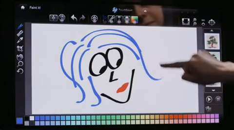 HP TouchSmart Paint It