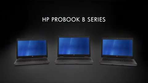 HP ProBook b-Series Business Notebooks Video