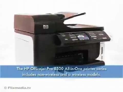 HP Officejet Pro 8500 All-in-One Printer - English EMEA