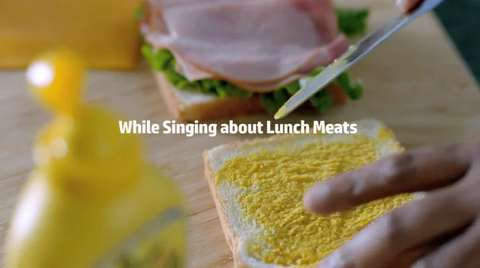 HP's guide to mobile printing while singing about lunchmeats -- How to mobile print