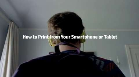 HP's guide to mobile printing while having a midlife crisis -- A video series on how to mobile print