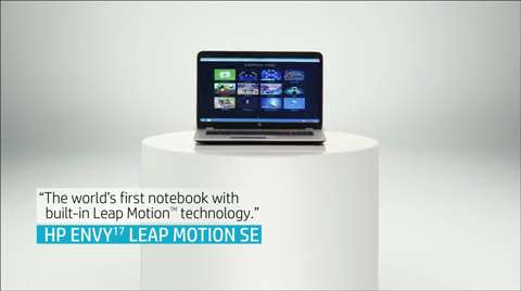 HP ENVY17 Leap Motion Special Edition Notebook
