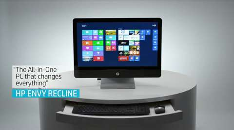 HP ENVY Recline 23 TouchSmart Beats SE All-in-One product video