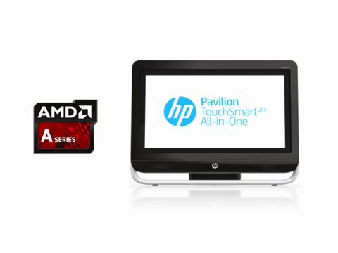HP Pavilion²³ TouchSmart All-in-One