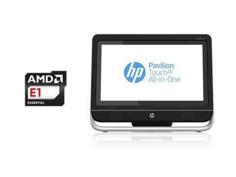 HP Pavilion 20 TouchSmart All-in-One