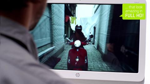 HP Slate 21 All-in-One Desktop video demo