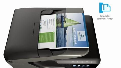 HP Officejet Pro 200 series printers web resolution version video (720p)